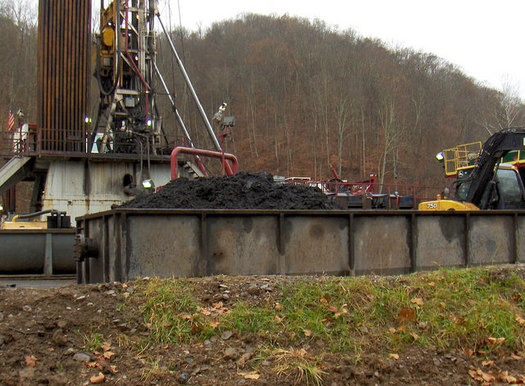 A legal push is underway to get the EPA to close a big loophole in the regulation of hazardous waste from oil and gas drilling. Credit: Bill Hughes/Earthworks.