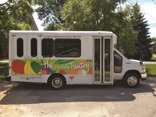 Competitive grants worth $1 million are going out to 17 food shelves in Minnesota to start or expand their mobile programs. Courtesy: Hunger Solutions Minnesota