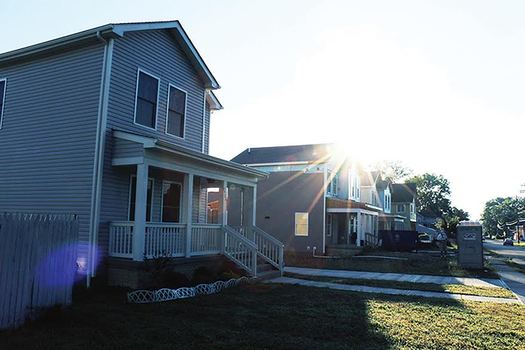 Habitat for Humanity � MidOhio uses energy efficiency building codes. Courtesy Habitat for Humanity Mid � Ohio