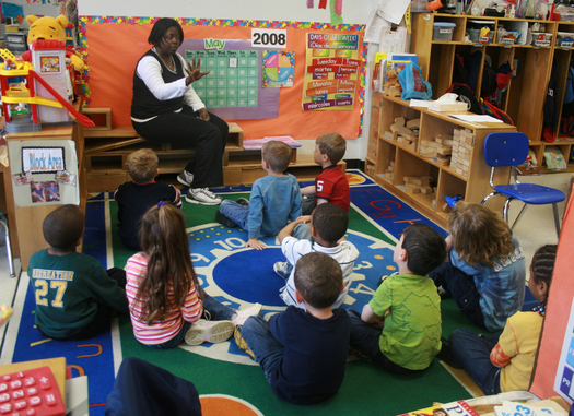 Good teacher training is considered fundamental to quality Pre-K programs. Credit: woodleywonderworks/commons.wikipedia.org