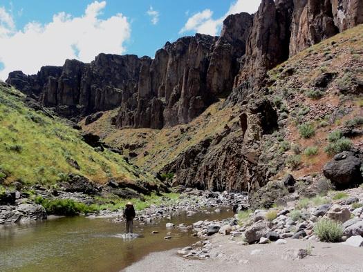 Owyhee Canyonlands in southeastern Oregon. Credit: Jeremy Fox