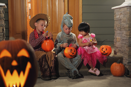 Safe Kids Worldwide has some easy and effective tips for drivers and parents to make sure all ghosts and goblins can trick-or-treat safely. Credit: Viafilms/iStockphoto