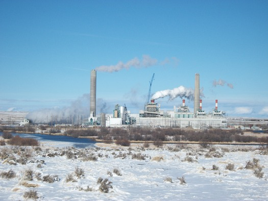 The coal-fired Dave Johnston Power Plant in Glenrock, Wyo. Credit: Powder River Basin Resource Council.