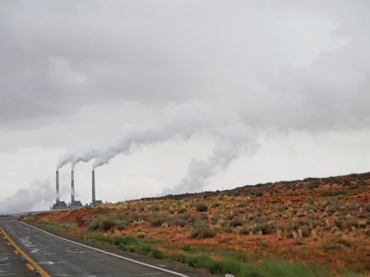 Navajo Generating Station in Page, Ariz., a coal-fired power plant. Credit: EX3N/iStock