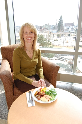 On National Eating Healthy Day, registered dietitian Marianne Merrick says try to change one thing at a time when you're trying to get rid of bad eating habits. Courtesy: Marianne Merrick