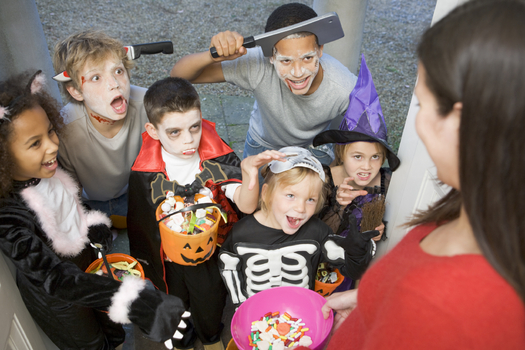 Safe Kids Worldwide has some easy and effective tips for drivers and parents to make sure all ghosts and goblins can trick-or-treat safely. Credit: Monkeybusinessimages/iStockphoto.