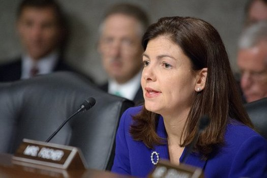 Sen. Kelly Ayotte, R-NH, is the first Republican to break with GOP leadership and support the pollution-reduction goals of the Clean Power Plan. Courtesy: Office of Sen. Ayotte.