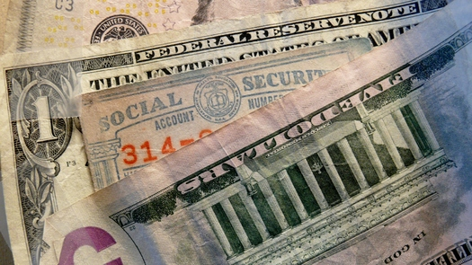 Wait, if you can, before taking your monthly Social Security benefit. That's the advice from the National Academy of Social Insurance. Credit Greg Stotelmyer