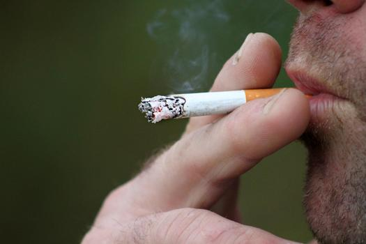 Smoking is the cause of most lung-cancer deaths. Credit: cherlyholt/morguefile