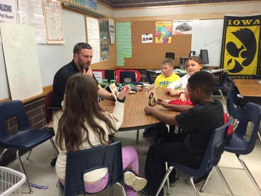Matt Brem is a fifth-grade teacher at Pierce Elementary School in Cedar Rapids. Courtesy: Iowa State Education Association