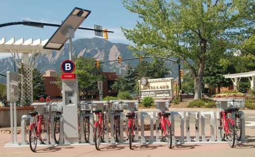 A new study of bike-share programs in four cities shows the majority of rides are replacing other modes of transportation. Credit: Tyree303/Wikimedia Commons