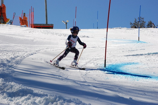The North Carolina ski industry contributed approximately $197 million last year to the state's economy through recreational skiing, and races like the High Country Race Series, pictured here. Courtesy: High Country Race Series