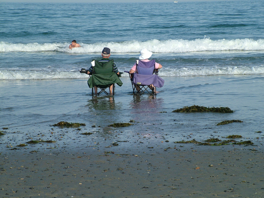 Not quite underwater? An AARP survey finds many older New Yorkers plan to retire out-of-state, particularly among minority groups who say the cost of living is too high to save. Courtesy: Ned Horton/freeimages.com.