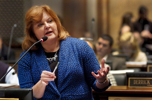 State Rep. Joni Jenkins is sponsoring a bill to allow victims of domestic and dating violence to legally break a lease to leave a dangerous situation. (LRC Public Information)