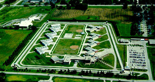Prisons, such as the Racine Correctional Institute, have been a growth industry in Wisconsin, which now spends more tax dollars on correction than on education. Credit: Wisconsin Dept. of Corrections