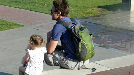 A new report underscores the importance of family time in terms of child development. Credit: Greg Stotelmyer