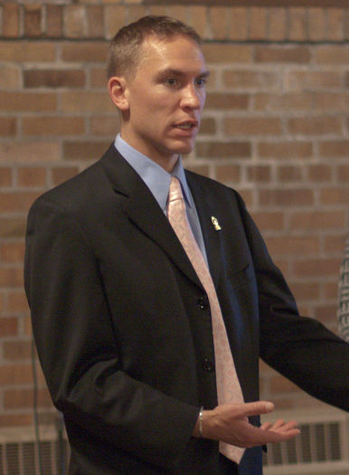 Wisconsin state Sen. Chris Larson, D-Milwaukee, says it's time to change the state's culture regarding drinking and driving. Credit: Michael Simms/Wikimedia Commons