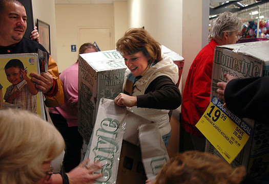 Black Friday is a fun holiday tradition for some Hoosiers. Credit: Beth Rankin/Flickr