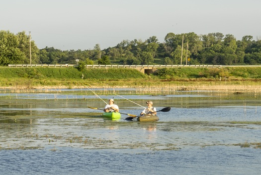 As Congress debates the Land and Water Conservation Fund, sections of Illinois' Emiquon National Wildlife Refuge are at risk of losing federal funding. Credit: Timothy S. Long/The Nature Conservancy