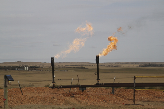 Residents living near North Dakota's natural-gas flares have been asking the government to look into possible health effects. Credit: iStock