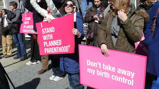 After last week's shooting in Colorado Springs, groups supporting Planned Parenthood are asking leaders to tone down their verbal attacks on the health-care provider. Credit: Charlotte Cooper/Wikimedia Commons.