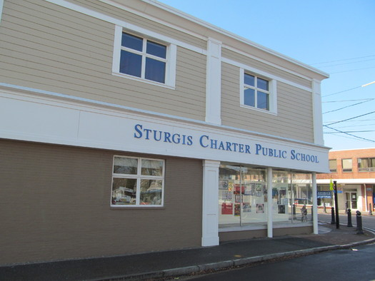 Three public hearings are being held this week to determine if applications should be granted for five more charter schools such as this one in Hyannis. Credit: John Phelan via wiki