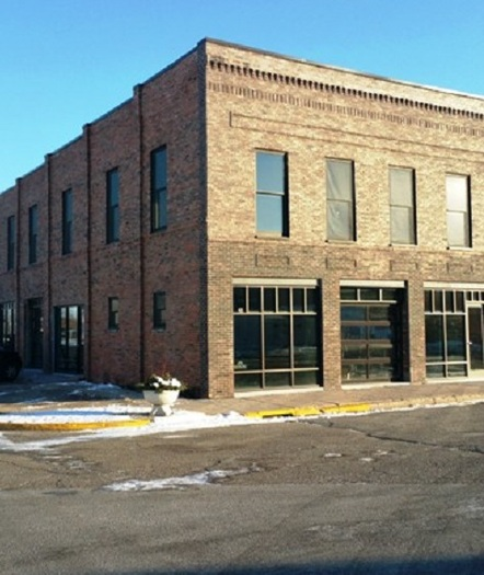The renovation of a downtown building in Slater won one of last year's awards for sustainability. (1,000 Friends of Iowa)