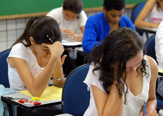 Advocates for students say testing is not the only way to gauge their progress. (Wilson Dias/Wikimedia Commons)