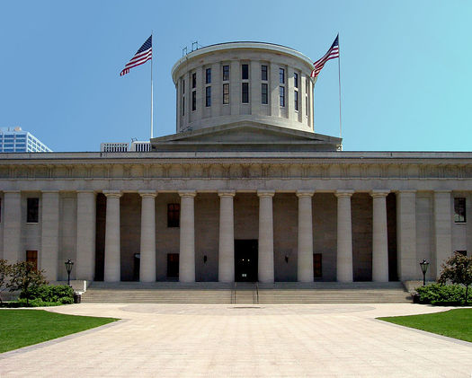 At the Ohio Statehouse, 25 percent of lawmakers are female. (Wikimedia/Alexander Smith)