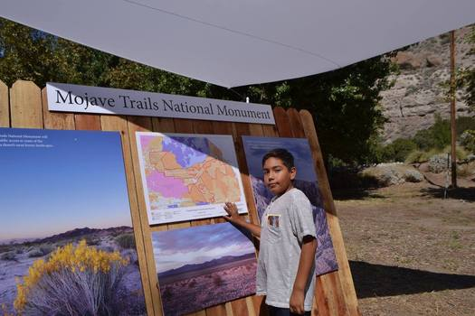 Youth groups from Latino churches visit the Mojave Trails National Monument. (Hispanic Access Foundation)