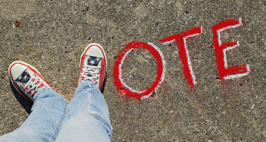 There are concerns that bills making their way through the Michigan Legislature would restrict voting. Credit: Theresa Thompson/Flickr