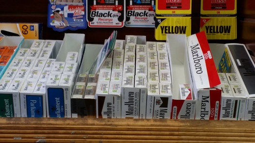 Big tobacco will spend more than $43 million this year for promotion, but a new report says Maine is in the top five states in terms of spending money on tobacco prevention. (Mike Clifford)