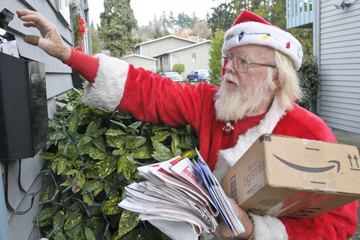 The U.S. Postal Service receives, and helps answer, millions of letters to Santa each year. (USPS)