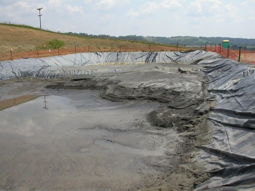 Radium 226 found in fracking waste has a half-life of 1,600 years. (Delaware Riverkeeper Network)