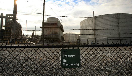 The BP refinery in Whiting, Ind. is no longer sending petcoke to South Chicago, but environmentalists are keeping an eye on where it's heading now. (iStockphoto)