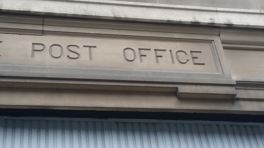 Could you bank here, too? A campaign is urging the Postmaster General to establish low-cost financial services in the nation's 30,000 U.S. Post Offices. (Mike Clifford)