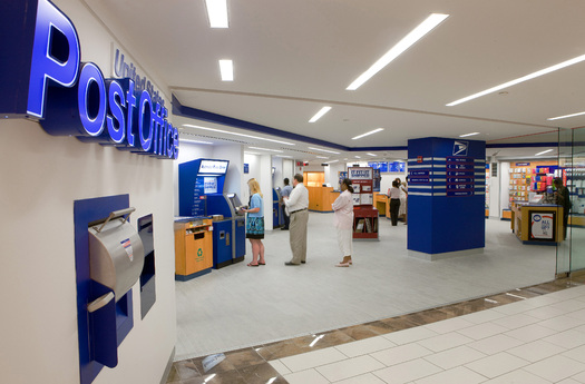 A campaign is urging the Postmaster General to establish low-cost financial services in the nation's 30,000 U.S. Post Offices. (USPS)