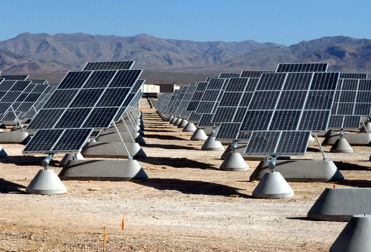 The Navajo Nation is building a utility-scale solar farm on tribal property in northern Arizona that will serve 7,700 homes when completed. (Wikimedia Commons)