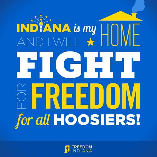 2016 will see renewed efforts to protect the LGBT community in Indiana. (Freedom Indiana)