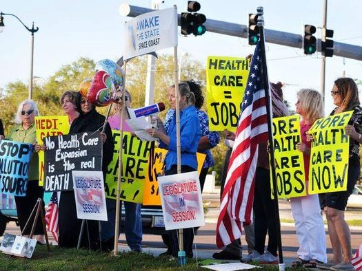 Floridians will mark the opening day of the 2016 legislative session with a series of rallies across the state. (Damien Filer/Progress Florida)