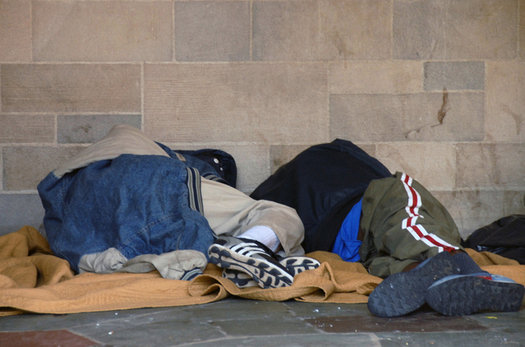 A new report suggests a lack of public assistance for low-income New Yorkers could be contributing to the state�s homeless problem. (H Dominique Abed/freeimages.com)