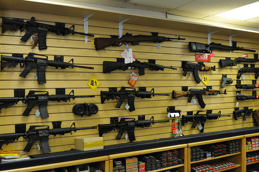 An executive action would expand mandatory background checks for firearm sales. (Michael Saechang/Flickr)