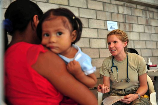 A new report from the Georgetown University Health Policy Institute says Arizona has one of the lowest rates of children with health insurance in the country. (Wikimedia Commons)