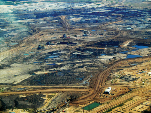 The company behind the Keystone XL pipeline is tapping rules under NAFTA to try to win more than $15 billion from the U.S. in damages. (Howl Arts Collective/Wikimedia Commons)