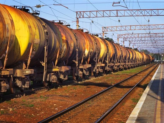 Montana conservationists are testifying in Spokane, Wash., tonight to protest a proposed oil terminal there that could send eight oil trains a day through Montana. (vladislav danilin/shutterstock)