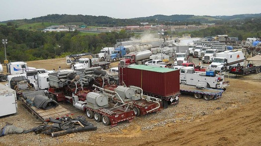 Fracking is exempt from many U.S. environmental laws. (U.S. Geological Survey/Wikimedia Commons)