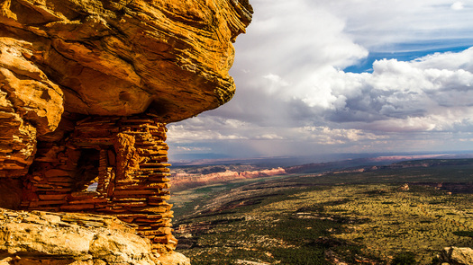 A controversial draft bill called the Utah Public Lands Initiative would protect part of the Bear's Ears region but would not make it a national monument as tribes have requested. (Credit: Josh Ewing)