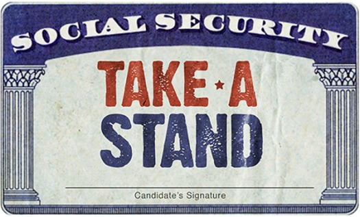 AARP's Take A Stand effort includes a website where people can compare the Social Security proposals of most presidential candidates. (AARP)