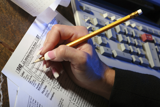 """Tax returns in North Dakota will be pushed back due to """"additional preventative measures."""" (iStockphoto)"""