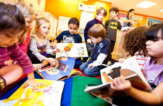 A new report says about 120,000 low-income children in Pennsylvania don't have access to pre-kindergarten programs. (Lochoaymca/Wikimedia Commons)